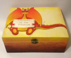Dragon keepsake/Memory Box